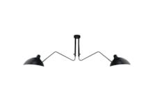 Funkcjonalna lampa pasująca do wnętrza w niemalże każdym stylu.  Oryginalny kształt doskonale sprawdzi się jako lampa do kuchni, przedpokoju oraz...