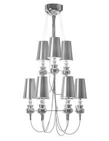 Konstrukcja lampy wykonana została z aluminium,<br />abażury z tworzywa sztucznego. <br />Lampa składa się z dwóch poziomów...