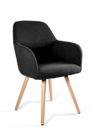 Krzesło LINE - czarny