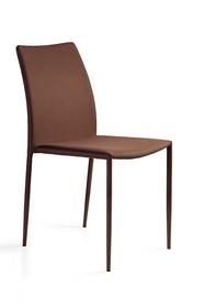 Krzesło DESIGN PVC - brązowy
