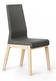 Wysokie krzesło jednokolorowe z kolekcji KYLA