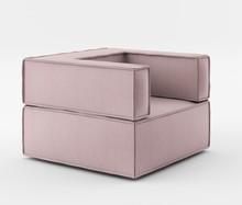 Fotel o szerokości 90 cm z kolekcji NOI Basic