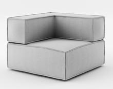 Fotel z jednym podłokietnikiem o szerokości 90 cm z kolekcji NOI Basic