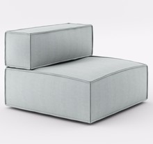 Fotel z jednym bokiem o szerokości 90 cm z kolekcji NOI Basic