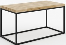 Dębowy prostokątny stolik z kolekcji NOi