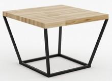 STOLIK DĘBOWY  Stolik kawowy z blatem z litego drewna dębowego to idealna propozycja dla tych, którzy cenią sobie światowe trendy wzornicze w...