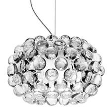 Lampawykonana jest z przejrzystego akrylu, stali oraz szkła satynowego.<br />Składa się z satynowego klosza otoczonego akrylowymi kulkami.<br...