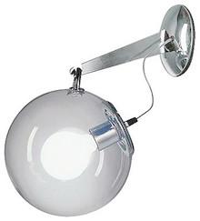 Lampa o klasycznym designie oraz prostych formach. Rozświetli niejedno nowoczesne oraz klasyczne wnętrze. W lampie BOBLE WALL żarówka została zamontowana...