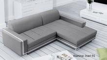 Idealnie podkreśli nowoczesne wnętrza.  Funkcje -funkcja spania -pojemnik na pościel -sprężyna falista -możliwość wyboru gr 2 tkanin- Magic Home, z...