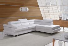Narożnik Luton to elegancki mebel o nowoczesnym fasonie, który posiada funkcję spania i pojemnik na pościel. Mebel wykonany w stylu nowoczesnym.  W...