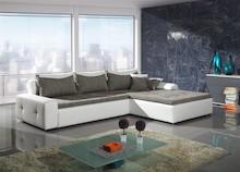 Narożnik LONDON to elegancki i bardzo stylowy mebel. Narożnik posiada funkcję spania oraz pojemnik na pościel.  Wymiary: Szerokość: 306/210 cm...