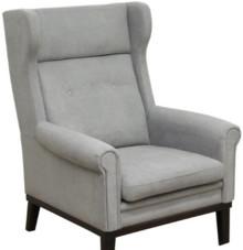 Funkcjonalność i styl  Stylowy fotel BERGEN. Stelaż drewniany. Siedzisko: sprężyna falista, bonell oraz pianka poliuretanowa. Oparcie: pasy gumowe oraz...