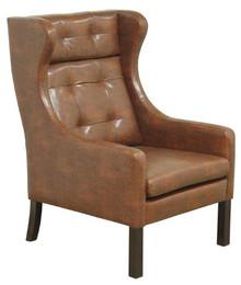 Najwyższa jakość wykonania!  Stylowy fotel BORGE. Stelaż drewniany. Siedzisko: sprężyna falista, bonell oraz pianka poliuretanowa. Oparcie: pasy...