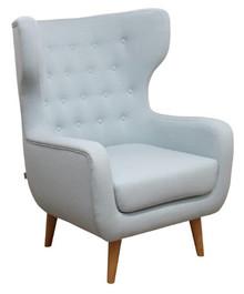 Jakość i styl!  Stylowy fotel KRONOS. Stelaż drewniany. Siedzisko: sprężyna falista, bonell oraz pianka poliuretanowa. Oparcie: pasy gumowe oraz pianka...