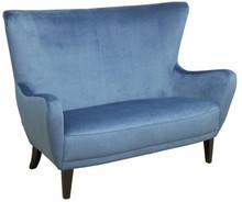 Komfort w stylowym wydaniu!  Wygodna stylowa sofa 2-osobowa TRISTAN Stelaż drewniany. Siedzisko: sprężyna falista, bonell oraz pianka poliuretanowa...