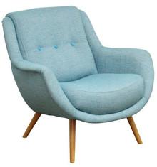 Najwyższa jakość wykonania!  Stylowy fotel VIBORG. Stelaż drewniany. Siedzisko: sprężyna falista, bonell oraz pianka poliuretanowa. Oparcie: pasy...