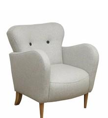 Funkcjonalność i wygoda!  Stylowy fotel KLARA. Stelaż drewniany. Siedzisko: sprężyna falista, bonell oraz pianka poliuretanowa. Oparcie: pasy gumowe...