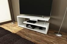 Stolik RTV CANES - nowoczesny design, oryginalny i niepowtarzalny kształt. Idealny do eleganckich wnętrz.Dodatkowym atutem jest możliwość wyboru...