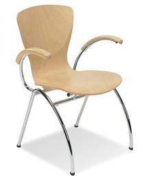Krzesło Bingo to bardzo stylowy mebel, który znajdzie zastosowanie w wielu różnorodnych wnętrzach. Będzie doskonałym rozwiązaniem do każdej kawiarni,...