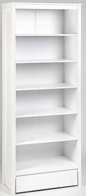 Regał OSCAR może być doskonałym uzupełnieniem pozostałych mebli marki TROLL.  Posiada pięć półek oraz szufladę na kółkach.  Wymiary:  -...