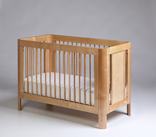 Łóżeczko dziecięce SUN 120x60 - naturalny