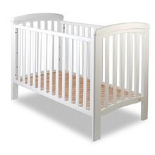 Łóżeczko dziecięce z wyjmowanymi szczebelkami NICOLE 120x60 - biały