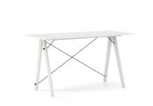 Biurko SLIM kolor WHITE stelaż BUK WHITE  Minimalistyczne biurko w formie stolika z wygodną nadstawką na drobiazgi. Wykonane ręcznie z litego drewna i...