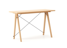 Biurko SLIM WOODIE blat BUK stelaż BUK  Minimalistyczne biurko w formie stolika z wygodną nadstawką na drobiazgi. Wykonane ręcznie z litego drewna i...