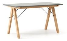 Stół BASIC 140x70 - stelaż BUK