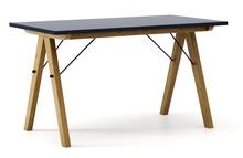Stół BASIC 140x70 - stelaż DĄB