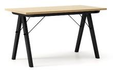 Stół BASIC 140x70 - stelaż BLACK