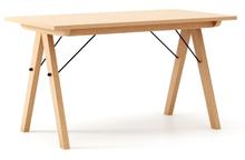 STÓŁ WOODIE blat BUK stelaż BUK (standard)  Solidny, drewniany stół w duchu SCANDI, idealny do jadalni lub kuchni. Wykonany ręcznie z litego drewna,...