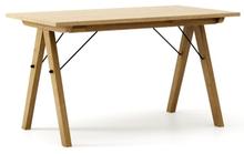 STÓŁ WOODIE blat DĄB stelaż DĄB  Solidny, drewniany stół w duchu SCANDI, idealny do jadalni lub kuchni. Wykonany ręcznie z litego drewna, całość...