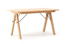 STÓŁ WOODIE blat BUK stelaż BUK (standard) ROZKŁADANY  Solidny, drewniany stół w duchu SCANDI, idealny do jadalni lub kuchni. Opcja rozkładania...