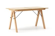 STÓŁ BASIC ROZKŁADANY kolor RAW OAK stelaż BUK (standard)  Minimalistyczny stół w duchu SCANDI, idealny do jadalni lub kuchni. Opcja rozkładania...