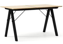 STÓŁ BASIC ROZKŁADANY kolor RAW OAK stelaż BUK BLACK  Minimalistyczny stół w duchu SCANDI, idealny do jadalni lub kuchni. Opcja rozkładania umożliwi...