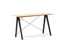 Biurko SLIM LUXURY WOOD blat BUK stelaż BUK BLACK  Minimalistyczne biurko w formie stolika z wygodną nadstawką na drobiazgi. Wykonane ręcznie z litego...