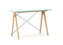 Biurko SLIM LUXURY COLORS stelaż BUK (standard)  Minimalistyczne biurko w formie stolika z wygodną nadstawką na drobiazgi. Wykonane ręcznie z litego...