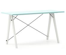 Biurko SLIM LUXURY COLORS stelaż BUK WHITE  Minimalistyczne biurko w formie stolika z wygodną nadstawką na drobiazgi. Wykonane ręcznie z litego drewna i...