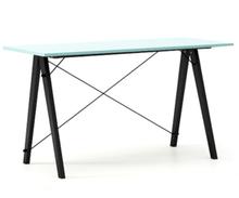 Biurko SLIM LUXURY COLORS stelaż BUK BLACK  Minimalistyczne biurko w formie stolika z wygodną nadstawką na drobiazgi. Wykonane ręcznie z litego drewna i...