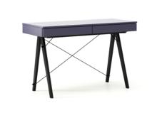 Biurko BASIC KIDS LUXURY COLORS stelaż BUK BLACK  Minimalistyczne biurko z dwoma szufladami i wygodną nadstawką na drobiazgi. Wykonane ręcznie z litego...