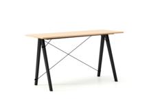 Biurko SLIM KIDS LUXURY WOOD blat BUK stelaż BUK BLACK  Minimalistyczne biurko w formie stolika z wygodną nadstawką na drobiazgi. Wykonane ręcznie z...