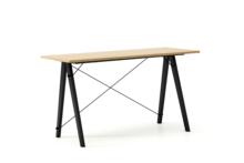 Biurko SLIM KIDS LUXURY WOOD blat DĄB stelaż BUK BLACK  Minimalistyczne biurko w formie stolika z wygodną nadstawką na drobiazgi. Wykonane ręcznie z...