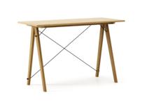 Biurko SLIM KIDS LUXURY WOOD blat DĄB stelaż DĄB  Minimalistyczne biurko w formie stolika z wygodną nadstawką na drobiazgi. Wykonane ręcznie z litego...