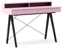 Minimalistyczne biurko z dwoma dyskretnymi szufladamitutaj w wersji LUXURY.Dostępne w bardzo szerokiej kolorystyce (wg palety NCS lub RAL),...