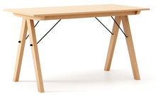 Minimalistyczny stół w duchu SCANDI, idealny do jadalni lub kuchni, tutaj w wersji LUXURY.Dostępny w szerokiej gamie naturalnych fornirów, także w...