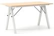 Stół BASIC LUXURY 140x70 - stelaż WHITE