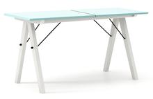Minimalistyczny stół w duchu SCANDI, idealny do jadalni lub kuchni.  Tutaj wersja LUXURY.Dostępny w bardzo szerokiej kolorystyce (wg palety NCS lub...