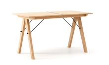 STÓŁ BASIC ROZKŁADANY LUXURY WOOD blat BUK stelaż BUK (standard)  Minimalistyczny stół w duchu SCANDI, idealny do jadalni lub kuchni. Opcja...