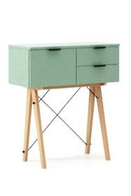 Wielofunkcyjna konsola do hallu lub salonu. Idealnie posłuży jako stolik do odłożenia drobiazgów lub wyeksponuje świeże kwiaty. Wykonana ręcznie z...